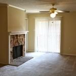 Arlington Oaks Apartment Fireplace