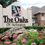 Oaks of Arlington Apartment Entrance