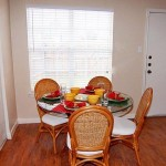 Parkland Pointe Apartment Dining Area