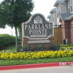 Parkland Pointe Apartment Entrance