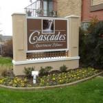 The Cascades Apartment Entrance