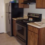 Arlington Oaks Apartment Kitchen