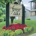 Forest Oaks Apartment Entrance