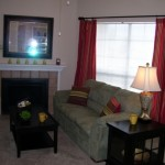 Huntington Meadows Apartment Liing Room 2