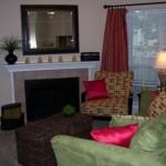 Huntington Meadows Apartment Living Room 3