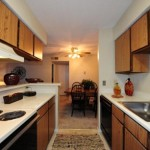Northwood Place Apartment Kitchen