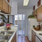 Oak Forest Apartment Kitchen