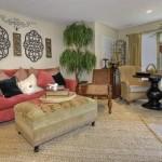 Oak Forest Apartment Living Area