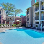 Oak Forest Apartment Pool Area