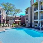 Oak Forest Apartment Pool Area