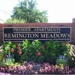 Remington Meadows Apartment Entrance