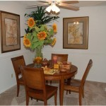 The Trails at River Park Apartment Dining Room