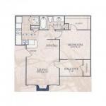 Villa Del Mar Apartment Floor Plan