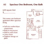 Wimbledon Court Apartment Floor Plan